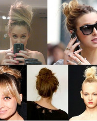 Summer Hair Trend: Top Knot Buns