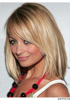 Shoulder Length Hair Bob with Bangs