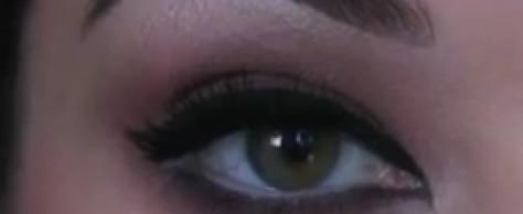 Mila Kunis Cat Eye Inspired Makeup