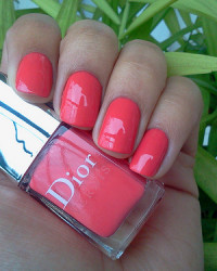 Summer 2012's Hottest Nail Color – Dior Psychedelic Orange
